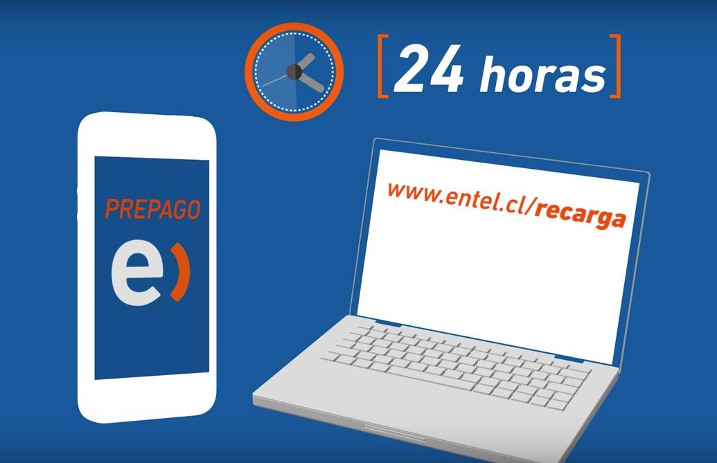 Recargar Entel Online